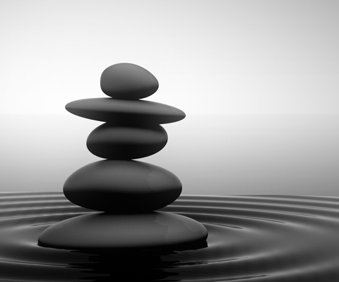 According to Google, Zen has a lot to do with stones.