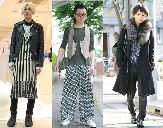 Tokyo street fashion and belgian designers nippaku Japanese clothing designers