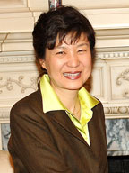 Park Geun Hye, South Korea's female president