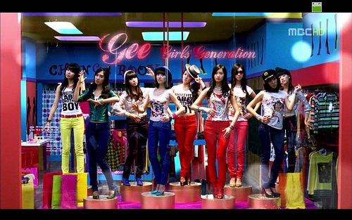 "Girls generation's ""Gee"" was the most viewed Kpop video before Gagnam Style crushed that record."