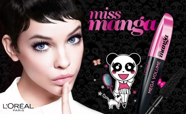 manga make-up-miss-manga-loreal-mascara-2
