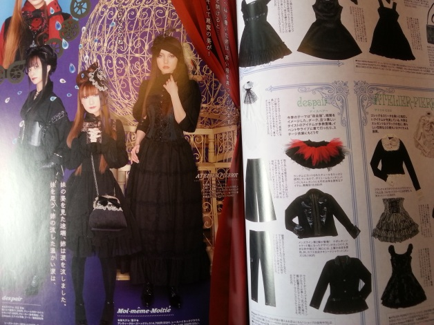 from Gothic & Lolita Bible, thé fashion magazine for lolita fans.