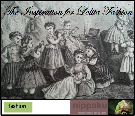 the inspiration for lolita fashion - nippaku