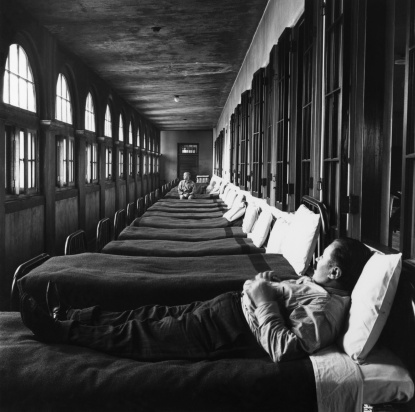 Ohio Insane Asylum in the 1950s - gettyimages.co.jp
