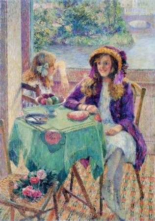 """Sisters 姉妹"" by Kojima Torajirō, 1911."